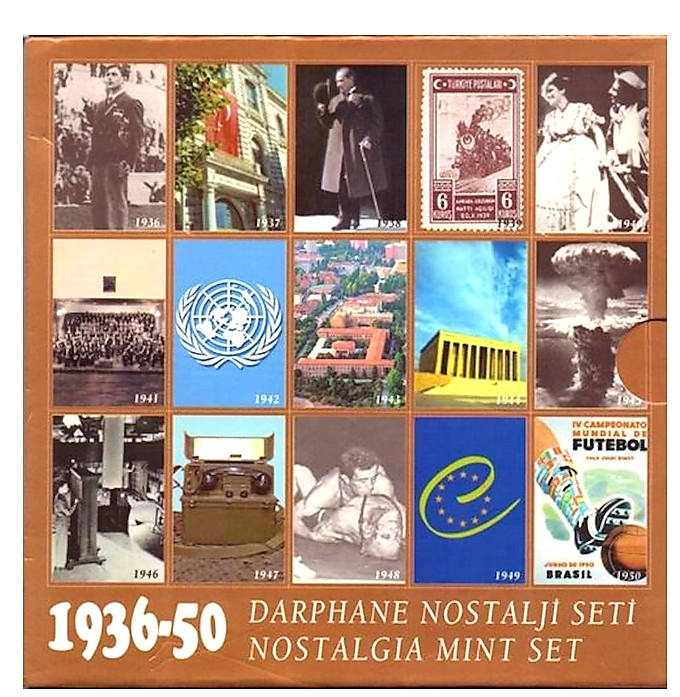 1936 GÜMÜŞ NOSTALJİ SETİ